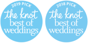 TheKnot Best of Weddings Pick 2018 and 2019